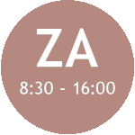 ZA 8:30 - 16:00